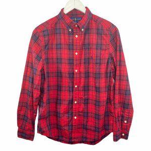 Ralph Lauren Plaid Long Sleeve Button-Down Shirt